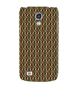 Diamond Chevron 3D Hard Polycarbonate Designer Back Case Cover for Samsung Galaxy S4 Mini i9190