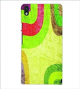 PRINTSWAG PATTERN Designer Back Cover Case for HUAWEI P6