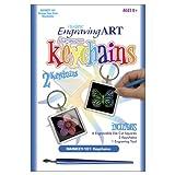 Royal & Langnickel Rainbow Engraving Art Keychain