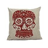 Sunnywill-Home-Sofa-Bett-Autos-Dekoration-Vintage-Skull-Pillowcover-Schdel-Kissen-neu-C