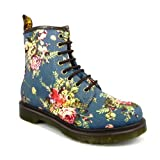 Dr Martens 8 Eyelet Castel 1460 Womens Canvas Boots