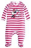 Pijama Rayas bebé niña Minnie Disney Baby Rosa de 3a 23meses rosa blanco/rosa Talla:18 meses