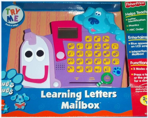Fisher-Price Blue'S Clues Abc Electronic Learning Letters Mailbox