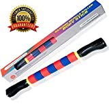 Deluxe Muscle Roller Stick the Ultimate Massage Roller 18 Inches Recommended By Physical Therapists Promotes Recovery Fast Relief For Cramps Soreness Tight Muscles