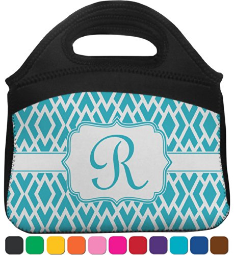 Geometric Diamond Lunch Tote (Personalized) front-818474