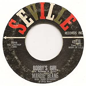 BOBBY'S GIRL / A TIME TO DREAM (1962 45rpm)