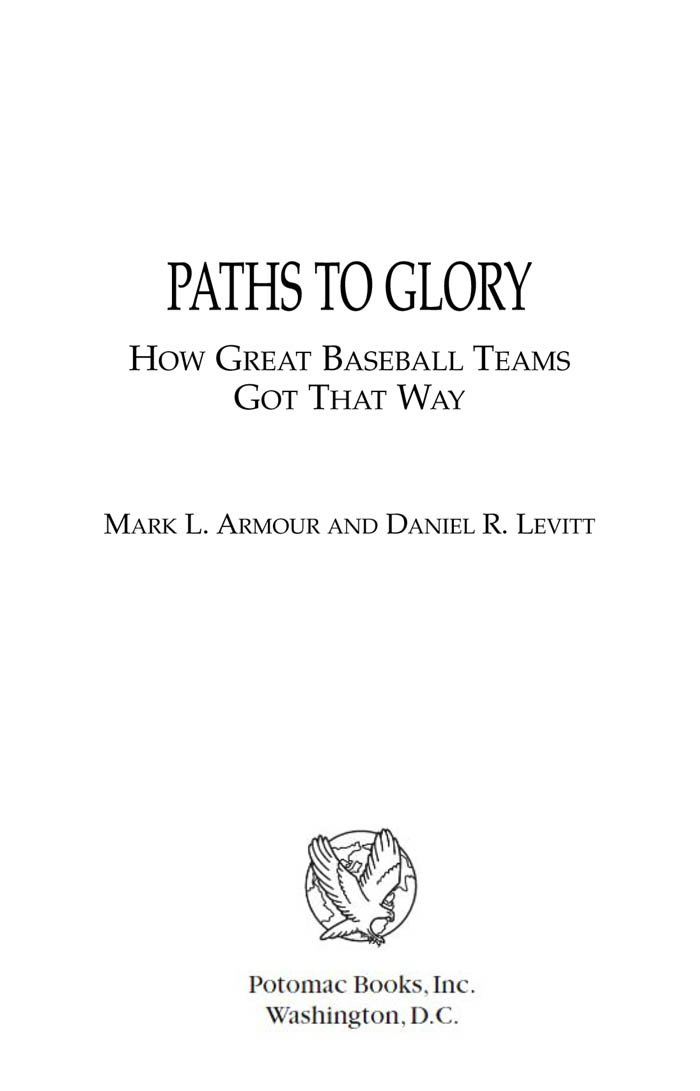 Amazon.com: Paths to Glory: How Great Baseball Teams Got That Way ...