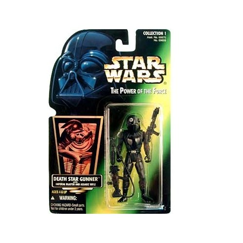 Star Wars: Power of the Force Green Card Death Star Gunner Action Figure