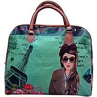 Ruff Digital Printed Casual Hobo Duffle women Bag GRV134