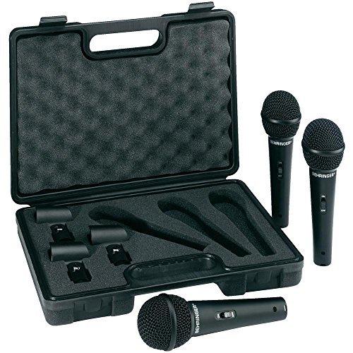 Behringer ULTRAVOICE XM1800S set 3 microfoni + bauletto