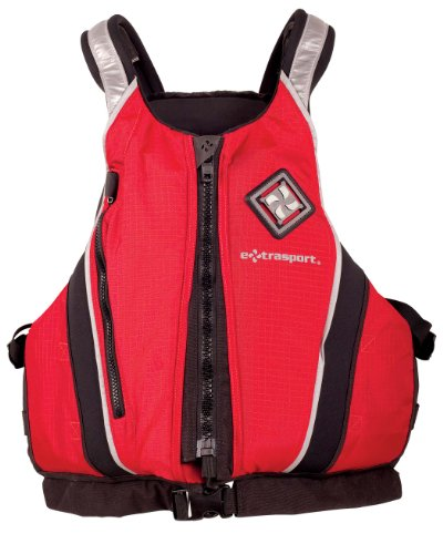 Cheap Extrasport Pro Caster Canoe/Kayak Rafting Fishing Personal Flotation Device/Life Jacket (CAR25669)