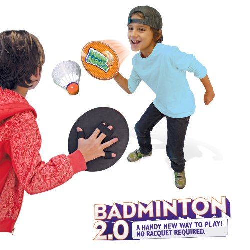 HandMinton Badminton 2.0 - The Play Anywhere Badminton Game Set for 2 Players