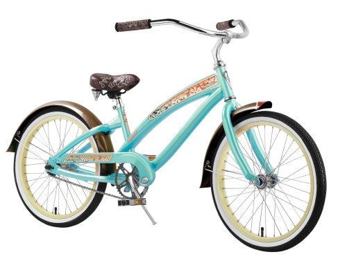 Nirve Suzy-Q Kids Cruiser Bike (20-Inch Wheels)