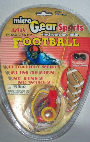 Micro Gear Sports Electronic Football Fm Radio Headset.