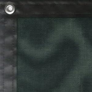 JFN Heavy Duty PVC Windscreen, Forest Green, 9