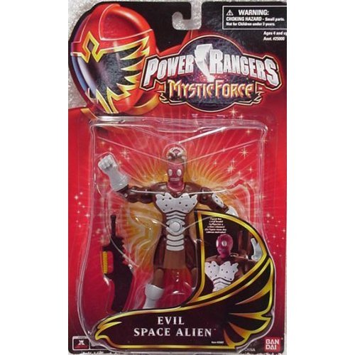 Buy Low Price Bandai Power Rangers Mystic Force Action Figure Evil Space Alien (B000AXMKVO)