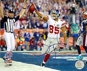 David Tyree autographed 8x10 Photo (New York Giants) Super Bowl XLII
