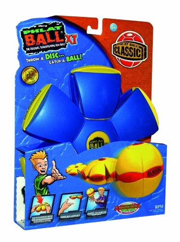 Imagen 1 de Universal Trends Phlat Ball TU11025 XT Classic - Disco de silicona transformable en pelota, color azul [importado de Alemania]