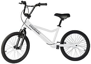 Strider Adult 20 Sport No-Pedal Balance Bike, White