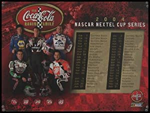 NASCAR Drivers - The Coca-Cola Racing Family - Wood Mounted Poster Print by Laminated Visuals