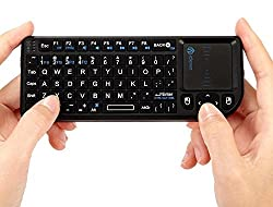 iClever IC-RF01 2.4G Ultra Mini Wireless Keyboard with Mouse Touchpad (Not for Samsung Smart TV) ¡ by iClever