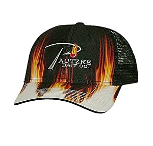 Pautzke P-Hook Logo Hat, Black