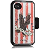 OtterBox Defender Series Anthem Collection Case & Holster for Apple iPhone 4 & 4S - Born Freen American Print - 77-20644_A - AT&T Packaging