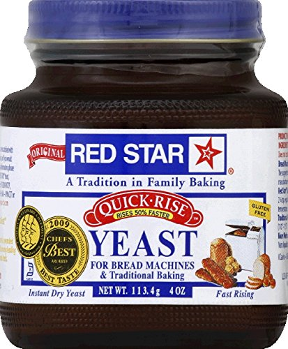 Red Star Bread Machine Yeast, 4oz Jar (Yeast For Baking compare prices)
