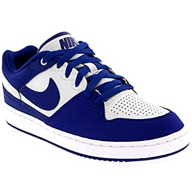 mens nike priority lace up leather sport low