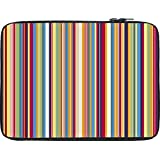 Snoogg Super Lining Pattern 2538 12 To 12.6 Inch Laptop Netbook Notebook Slipcase Sleeve