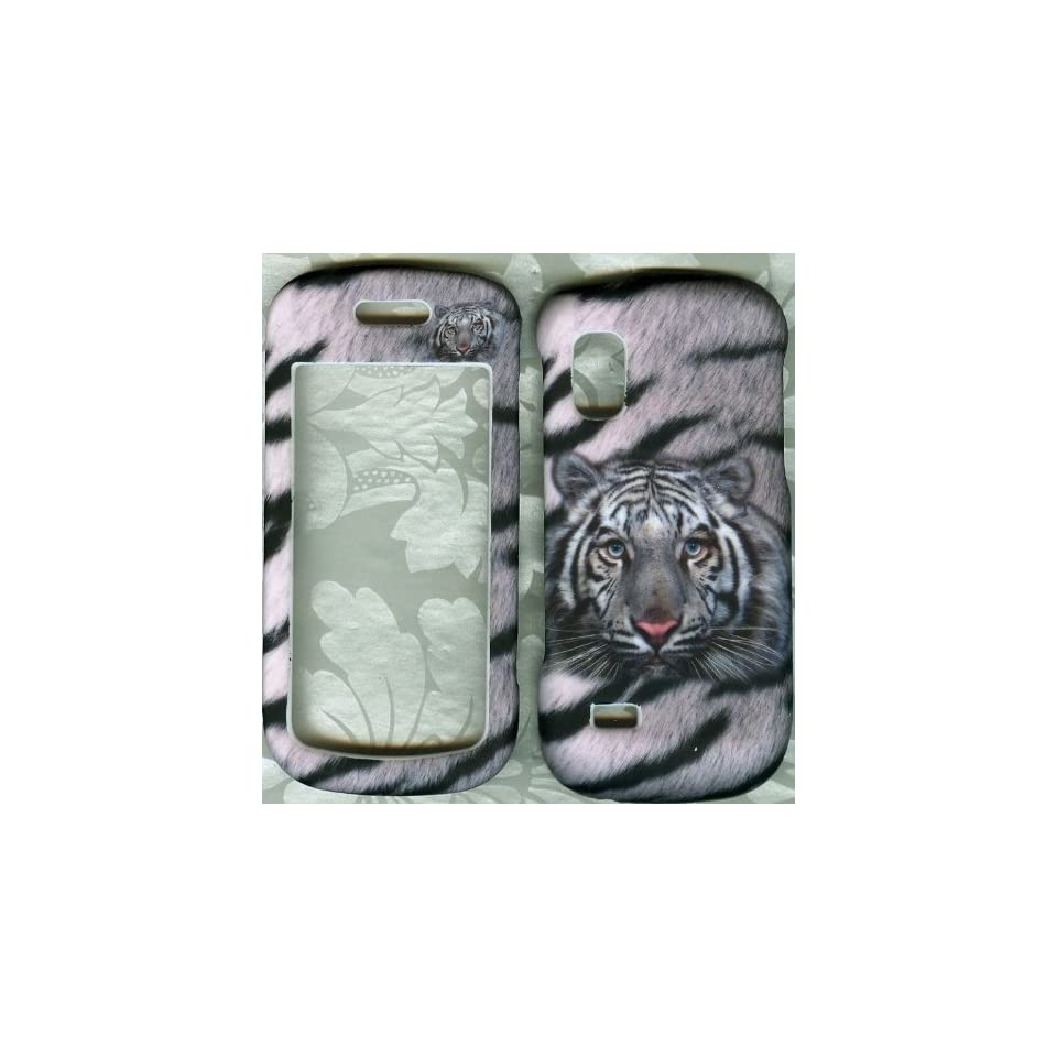 White Tiger SAMSUNG Solstice SGH A887 PHONE CASE COVER