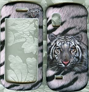 White Tiger SAMSUNG Solstice SGH-A887 PHONE CASE COVER