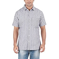Anytime Multi color Cotton Casual Shirts