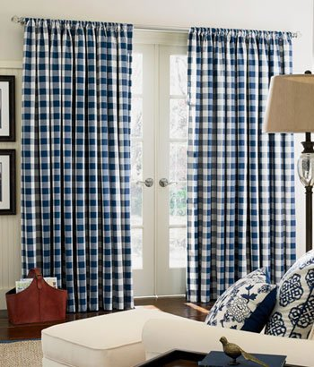 Buffalo Check Rod Pocket Curtains Curtain Store
