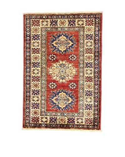 ZZ-L'Eden del Tappeto Teppich Kazak Super mehrfarbig 59 x 85 cm