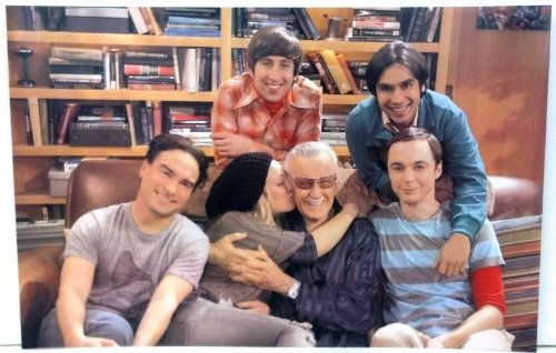 Stan Lee and The Big Bang Theory