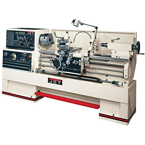 Jet 321137 Gh-1460Zx Large Spindle Bore Metal Lathe With Newall Dp700 Pro front-8819