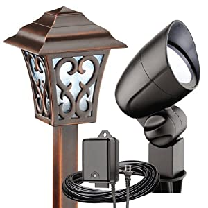 Click to buy Malibu Outdoor Lighting: Malibu Coach Light Style LED Kit from Amazon!