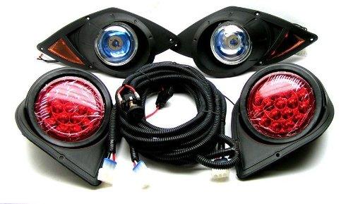 New Yamaha G29 Drive Golf Cart Headlight & Tail Light Kit Golf Cart Light Kit