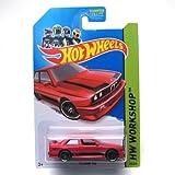 Hot Wheels 2014 Hw All Stars Workshop Red '92 Bmw M3 195/250
