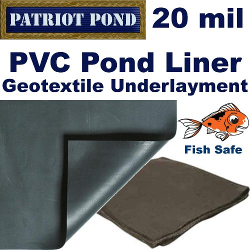 Awardpedia 10 39 X 15 39 Patriot 20 Mil Pvc Pond Liner