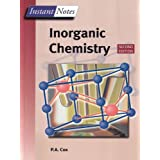 Instant Notes in Inorganic Chemistry ~ Tony Cox