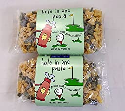 Hole In One Pasta Golf Bag and Golf Club Shapes - 2 Pack