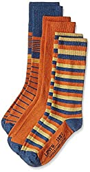 Levis Mens Socks (Pack of 3) (8904233606287_26502-0001_Free Size_Multi-Coloured (Bros - B4605))