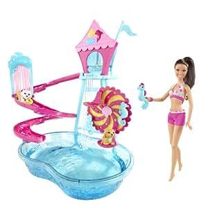 Barbie Puppy Water Park Nicki Doll Playset