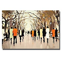 Poet\'s Walk by Lorraine Christie Premium Gallery-Wrapped Canvas Giclee Art (Ready-to-Hang)