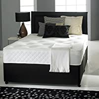Divan Bed with Ortho Mattress, Headboard and 2 drawers (4ft6 Double) by Joseph Ortho