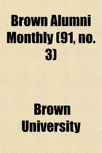 Brown Alumni Monthly (91, no. 3)