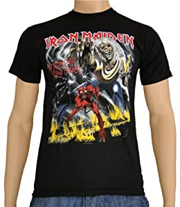 Iron Maiden The Number of the Beast T-Shirt Black, XL