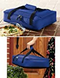 Collections Etc - Set Of 2 Casserole Totes Carrying Bags